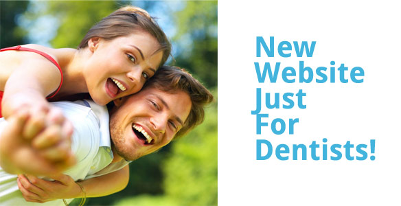 New website for dentists for dental print and marketing needs