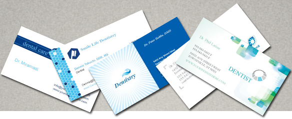 Dental Business Cards and dentist business cards
