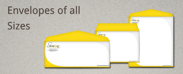 Dental Envelopes, Dentist Envelopes, Full Color Envelopes