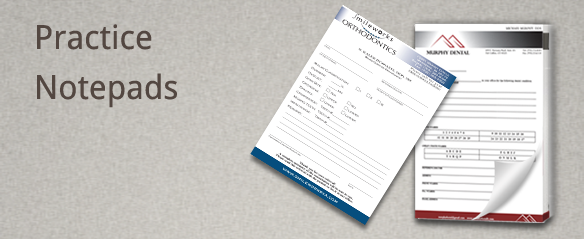 Dental Referral Notepads